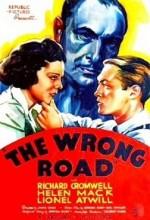 The Wrong Road (1937) afişi