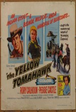 The Yellow Tomahawk (1954) afişi