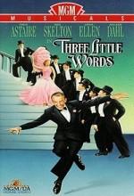 Three Little Words (1950) afişi