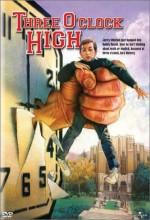 Three O'Clock High (1987) afişi