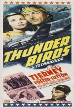 Thunder Birds (1942) afişi