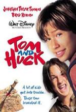 Tom Ve Huck (1995) afişi