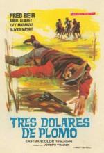 Tres Dólares De Plomo (1965) afişi