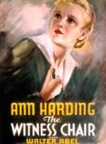 Tanık Koltuğu (1936) afişi