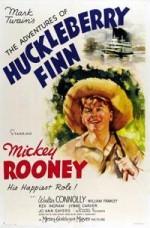 The Adventures of Huckleberry Finn (1939) afişi