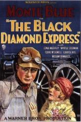 The Black Diamond Express (1927) afişi