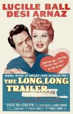 The Long, Long Trailer (1953) afişi