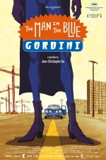 The man in the blue gordini (2009) afişi
