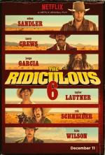The Ridiculous 6 (2015) afişi