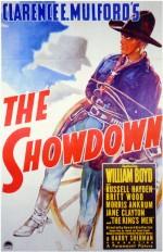 The Showdown (ıı) (1940) afişi