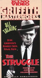 The Struggle (1931) afişi