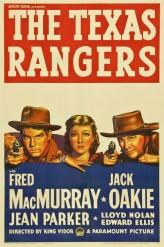 The Texas Rangers (1951) afişi