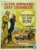 Thunder in the Sun (1959) afişi