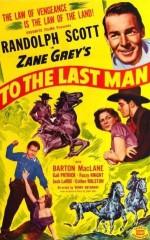 To The Last Man (1933) afişi