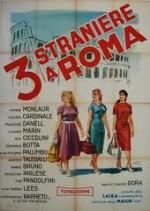 Tre straniere a Roma
