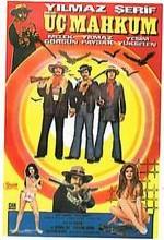 Üç Mahkum (1972) afişi