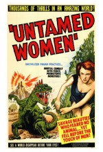 Untamed Women (1952) afişi