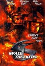 Uzayda Konvoy (1997) afişi