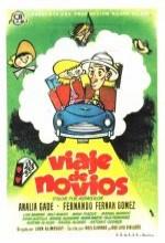 Viaje De Novios (1956) afişi