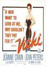 Vicki (1953) afişi