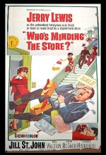 Who's Minding The Store? (1963) afişi