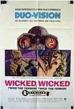 Wicked, Wicked (1973) afişi