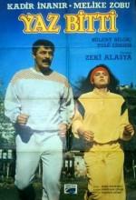 Yaz Bitti (1985) afişi