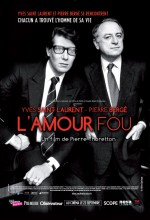 Yves Saint Laurent - L'amour Fou (2011) afişi