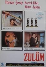 Zulüm (1972) afişi