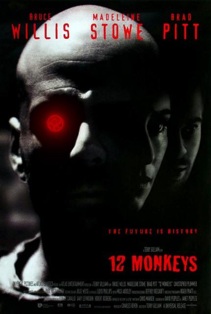 12 Maymun (1995) afişi