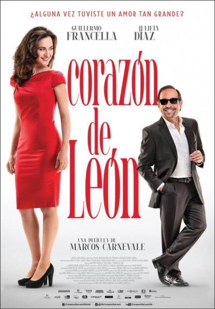 Corazón de león (2013) afişi