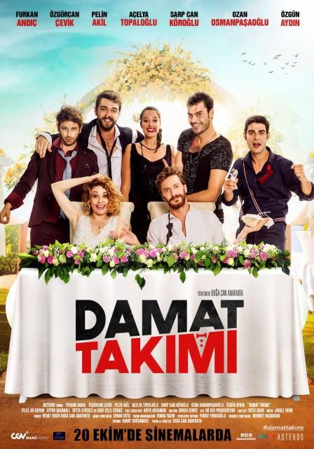 Damat Takımı (2017) afişi