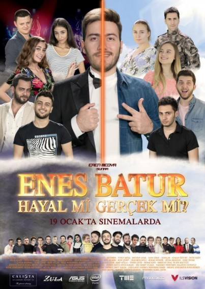 Enes Batur Hayal mi Gerçek mi? (2018) afişi