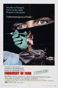 Fragment of Fear (1970) afişi