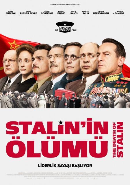 Stalin'in Ölümü (2017) afişi