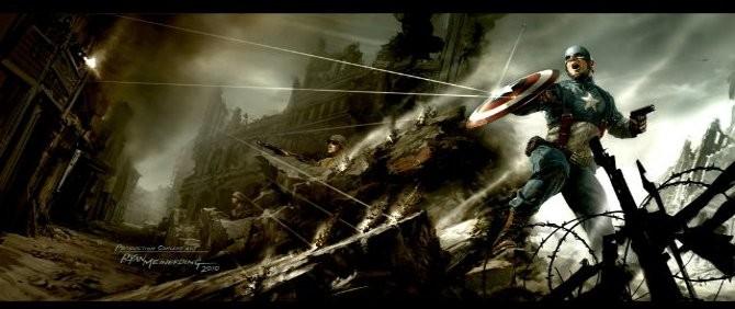 Captain America'nın Fotoğrafları Yayınlandı!