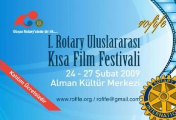 Rotary Kısa Film Festivali Başlıyor