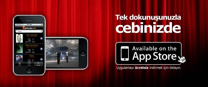 Sinemalar.com'dan akıllı iPhone uygulaması!
