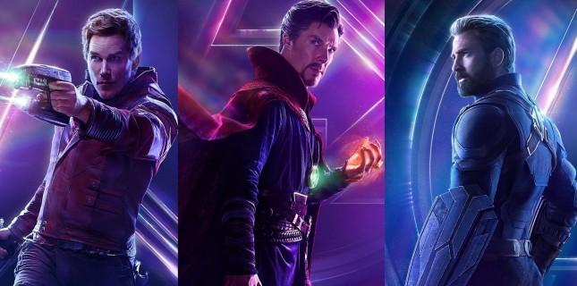 Avengers: Infinity War'dan karakter afişleri yayınlandı
