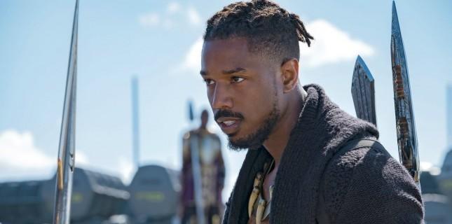 Black Panther'in 'kötü' adamı, Heath Ledger'ı (Joker) örnek almış