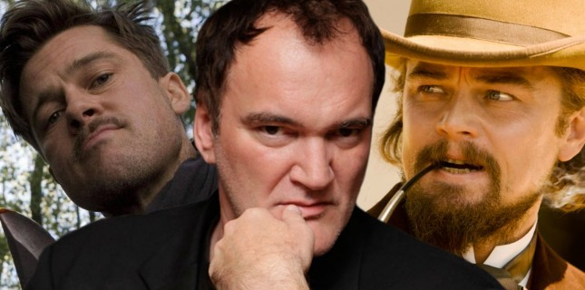 Brad Pitt ve Leo DiCaprio ilk kez Tarantino filminde buluşuyor!