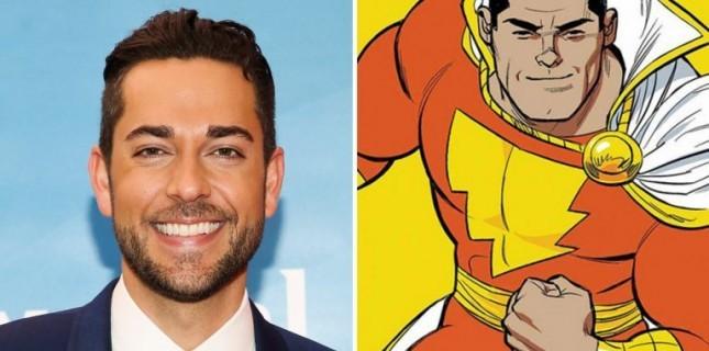 DC Karakteri Shazam'i Zachary Levi Oynayacak