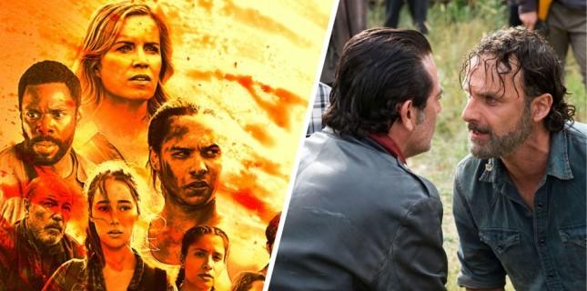 İki Walking Dead Dizisinin Yolları Kesişiyor