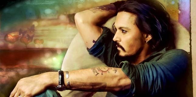 Johnny Depp'in Yeni Filmi Mortdecai'den İlk Fotoğraf
