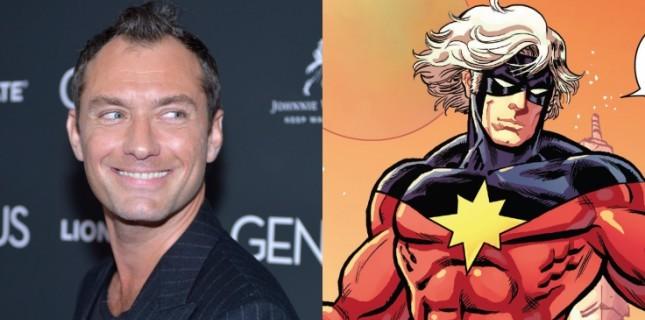 Jude Law'lı 'Captain Marvel'ın çekimleri Şubat'ta başlıyor