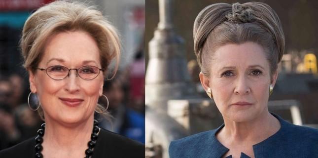 Star Wars hayranları Episode 9'da Meryl Streep'i istiyor