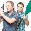 Father And Guns Resimleri